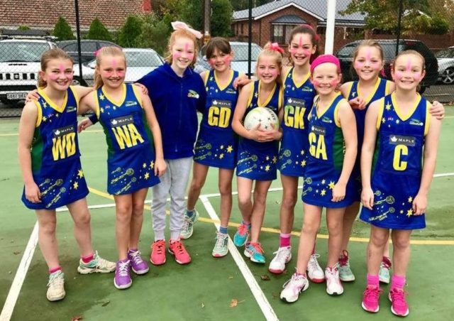 Pink Day Success Donate Online Stirling Comets Netball